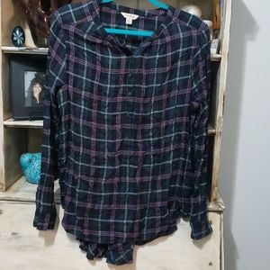 🍀Lucky Brand Flannel